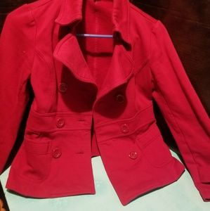 Forever 21 red jacket